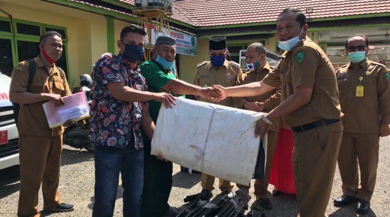 Pedagang Di Sidimpuan Terima Bantuan Pemulihan Ekonomi
